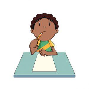 Student thinking image