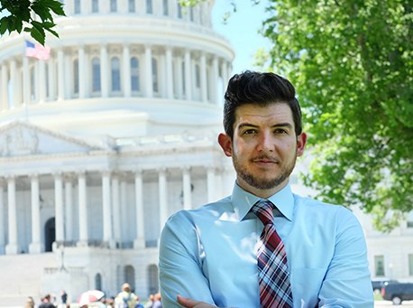 Brandon Toth staff photo Capitol background
