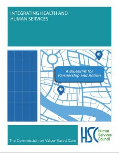 HSC Integrating Health & Human Services Report Cover