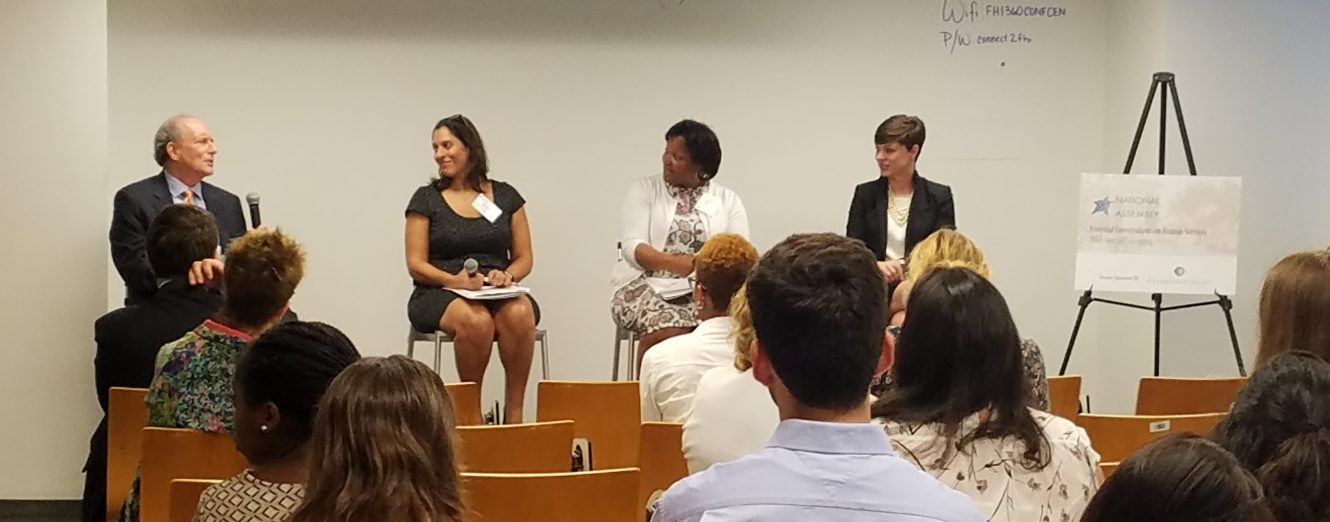 Panelists from Reaching Sound Policy Choices Session at NHSA Annual Convening