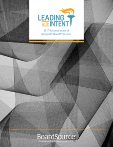 Leading With Intent report cover