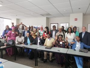 NGO Leaders from Africa at NHSA with CEO Lee Sherman