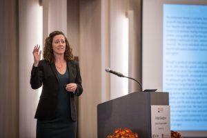 Bridget Gavaghan presenting reframing