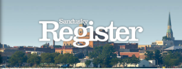 Sandusky Register masthead